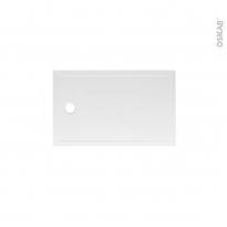 Receveur de douche - Extra-plat PAO - Céramique - Rectangulaire 100x80 cm - Blanc