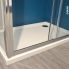 #Receveur de douche - SAMOA - Acrylique - Rectangulaire 120x80 cm - Blanc
