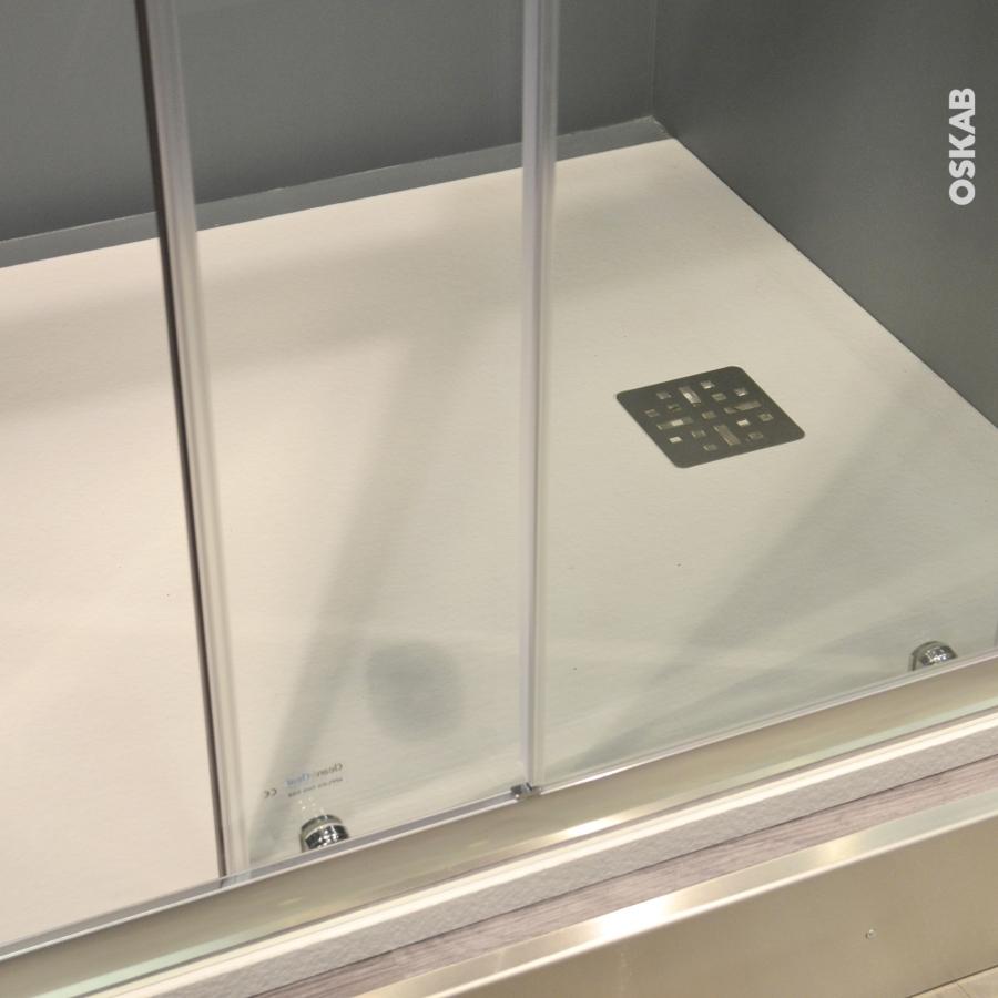 receveur de douche extra plat bali r sine rectangulaire 140x80 cm blanc oskab. Black Bedroom Furniture Sets. Home Design Ideas