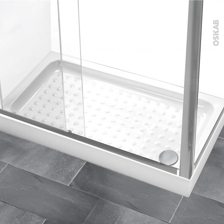 receveur de douche kos gr s maill rectangulaire 120x80 cm blanc oskab. Black Bedroom Furniture Sets. Home Design Ideas
