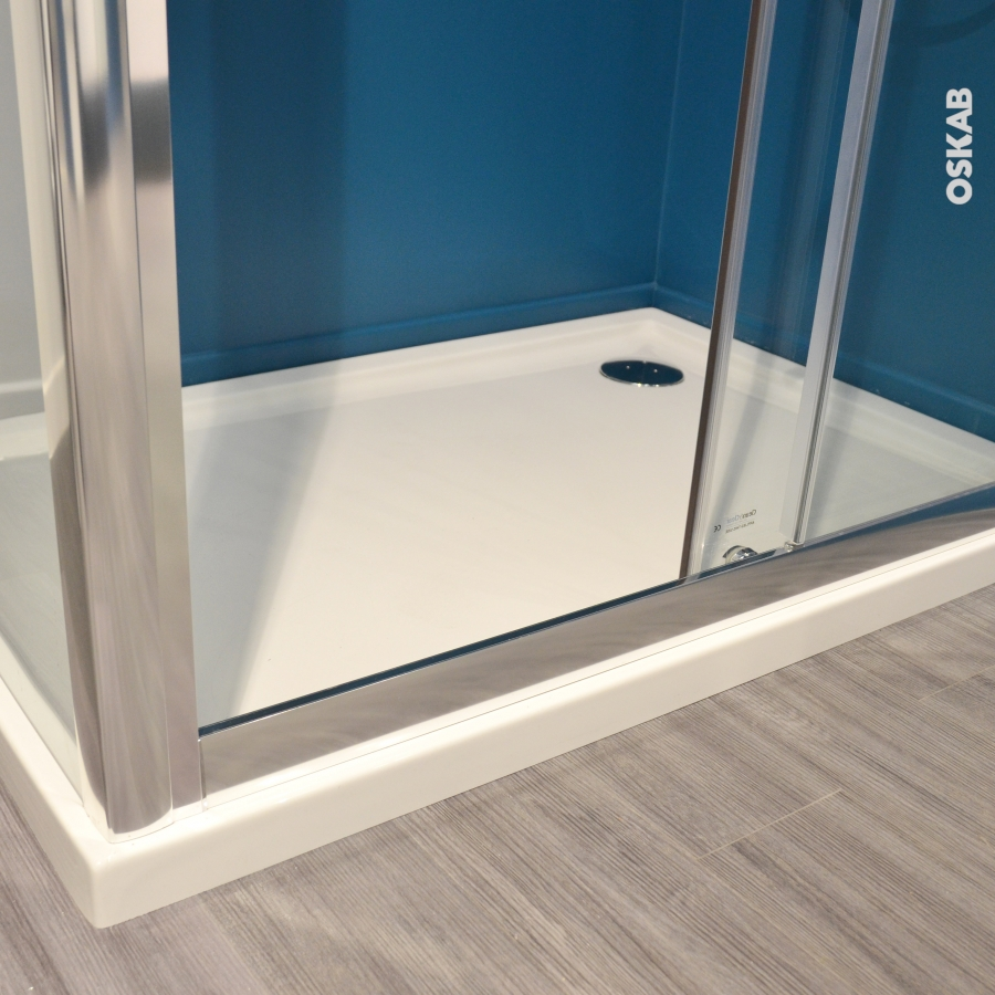 receveur de douche samoa acrylique rectangulaire 120x80 cm. Black Bedroom Furniture Sets. Home Design Ideas