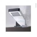Eclairage de salle de bains - Led LUX - L7,5 x H3,8 x P13 cm