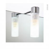 Eclairage de salle de bains - Halogène HELIOS - L4 x H12,4 x P9,8 cm