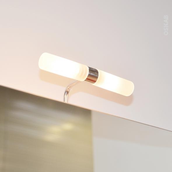 Eclairage de salle de bains - Halogène ALDER - L20 x H5,5 x P10 cm