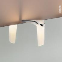 Eclairage de salle de bains - LED Noé - L3,9 x H11,7 x P11,9 cm