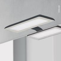 Eclairage de salle de bains - LED Jade - finition noire - L30 x H1,4 x P16,1 cm