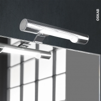 Eclairage de salle de bains - LED Rosa - L25,3 x H3,2 x P12,3 cm