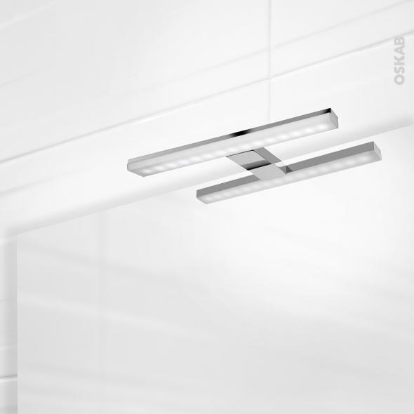 Eclairage de salle de bains - LED Calypso - L30 x H1,5 x P11,2 cm