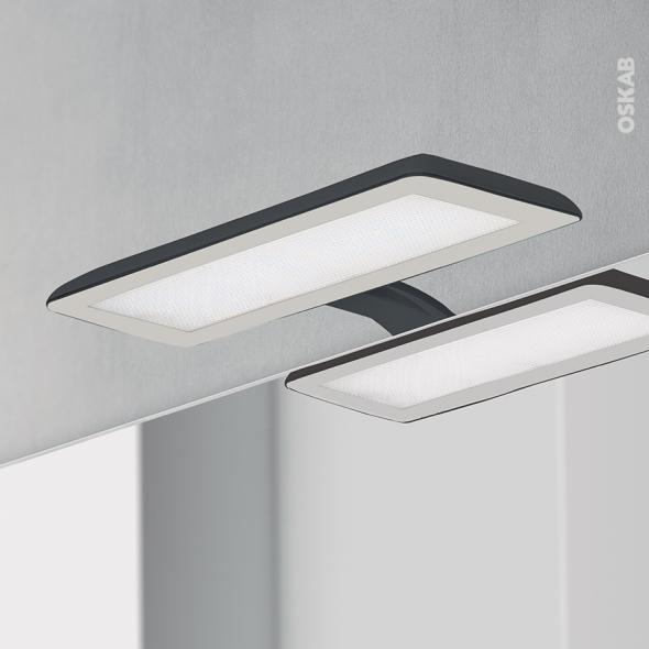 Eclairage De Salle De Bains   LED Jade   Finition Noire   L30 X H1,
