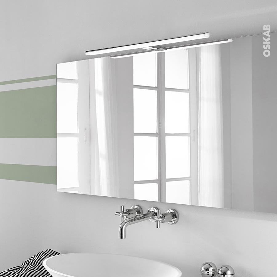 Eclairage Sous Meuble Cuisine Sans Interrupteur eclairage de salle de bains led calypso l60cm l60 x h1,5 x p11,2 cm