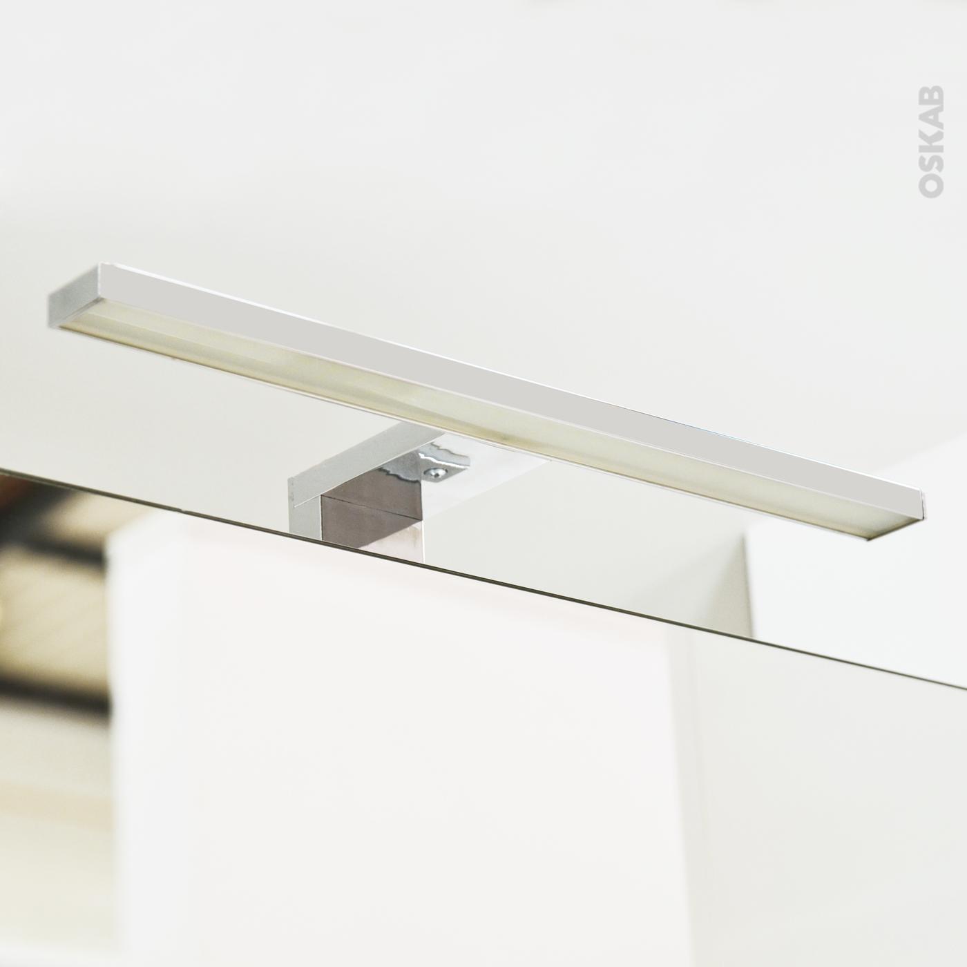 miroir salle de bain eclairage led. Black Bedroom Furniture Sets. Home Design Ideas