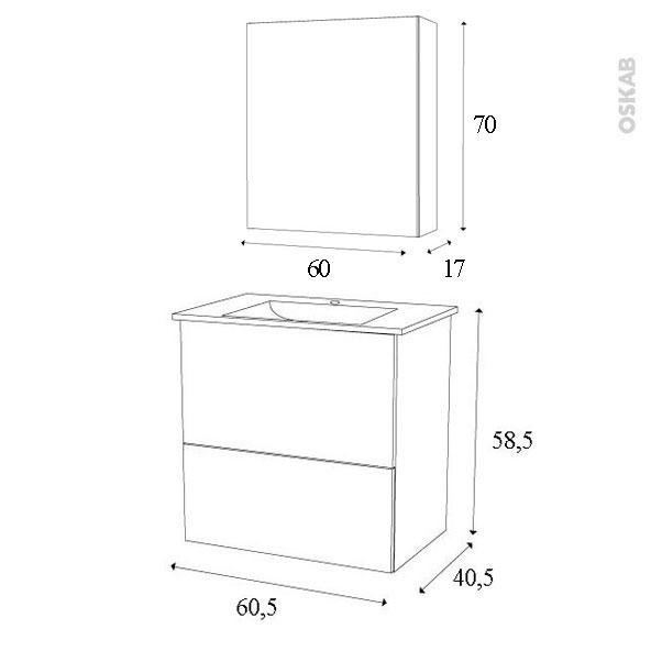 Taille vasque salle de bain dimension meuble double for Taille moyenne salle de bain