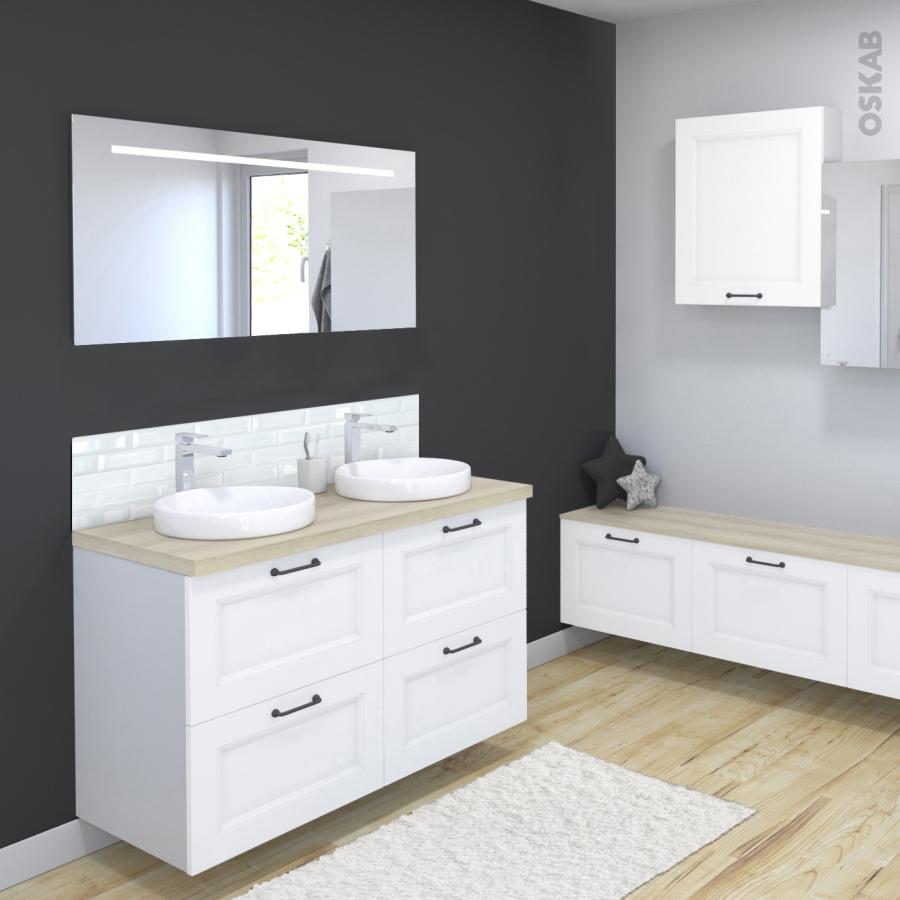 Meuble haut salle de bain lumineux 28 images ensemble for Bandeau lumineux salle de bain