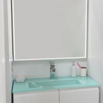 Miroir de salle de bains - Lumineux MILA - L60 x H70 cm