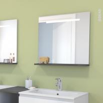 Miroir de salle de bains - Lumineux SPIEL - L60 x H60 cm