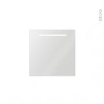 Miroir salle de bains Spiel -  Rétro éclairé - L60xH60