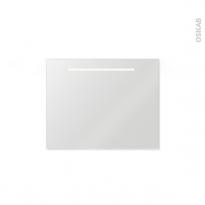 Miroir de salle de bains - Lumineux SPIEL - L80 x H60 cm