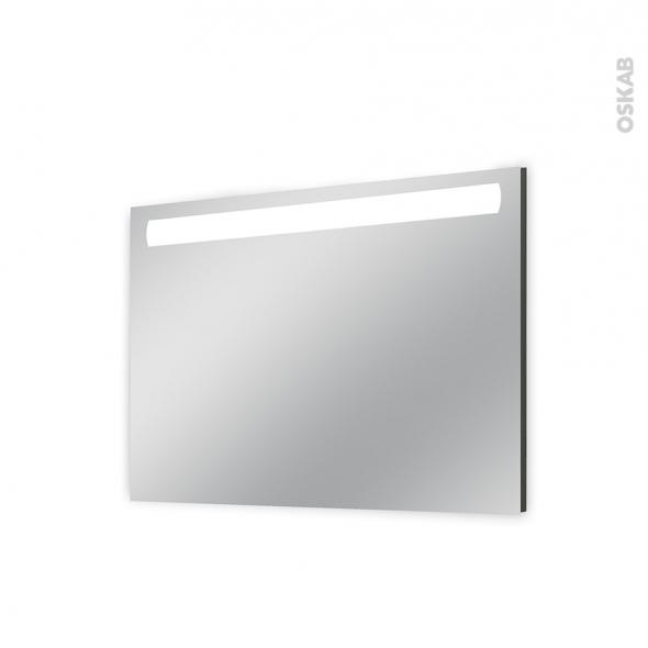 Miroir de salle de bains - Lumineux - KIO - L100 x H70 cm