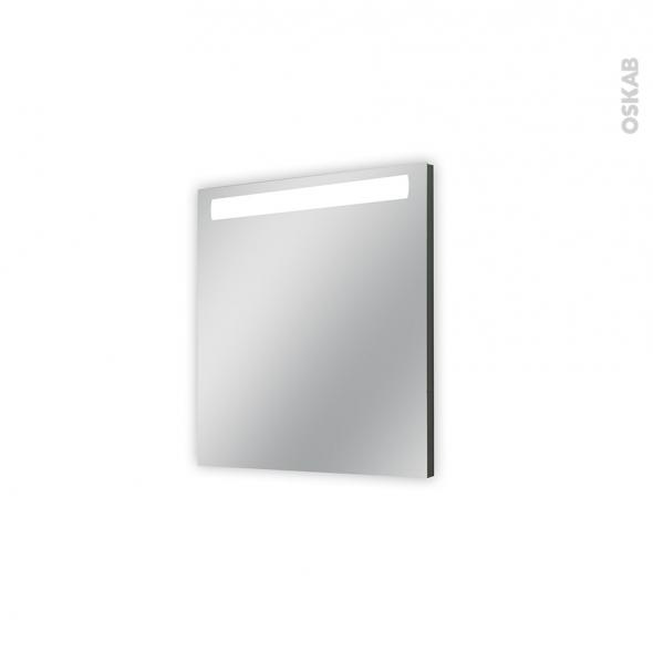 Miroir de salle de bains - Lumineux - KIO - L60 x H70 cm