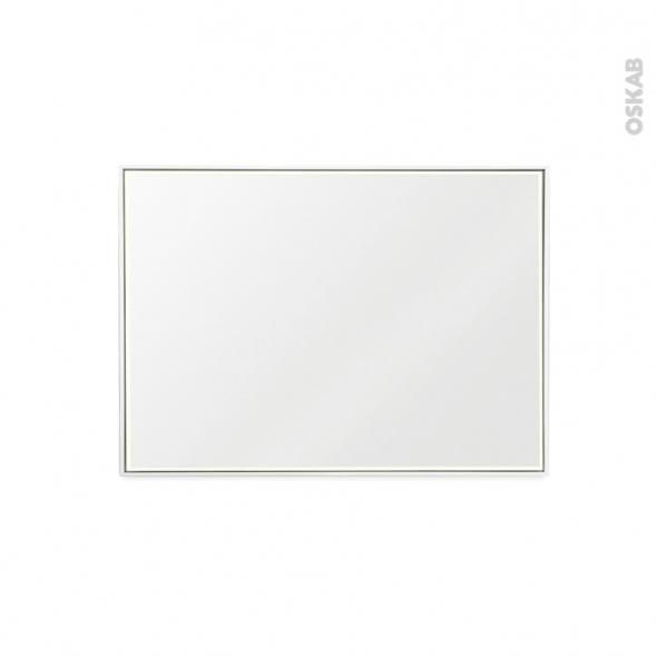 Miroir de salle de bains - Lumineux MILA - L100 x H70 cm