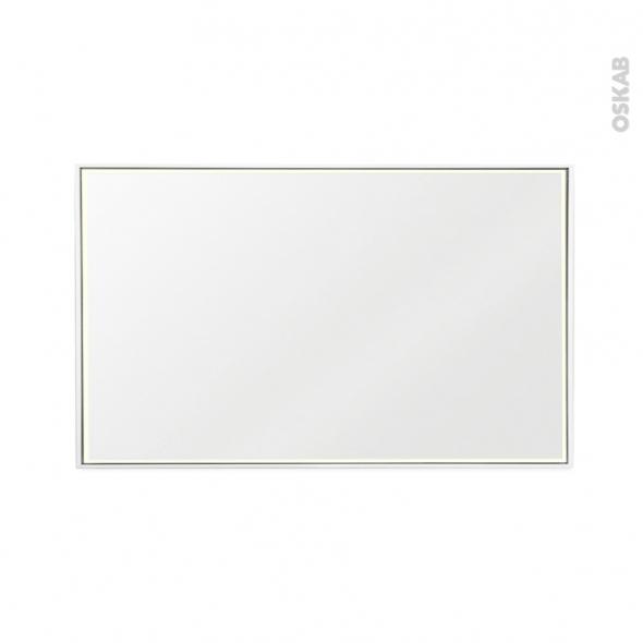 miroir de salle de bains lumineux mila l120 x h70 cm