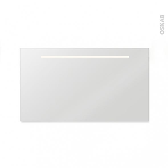 miroir de salle de bains lumineux spiel l120 x h60 cm