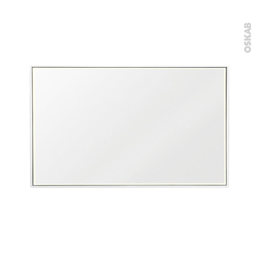 Miroir de salle de bains lumineux mila l120 x h70 cm oskab for Miroir salle de bain 90 cm