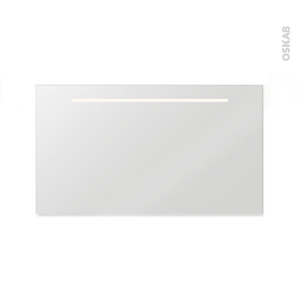 R tro clair l120xh60 miroir salle de bains spiel oskab - Miroir eclaire salle de bain ...