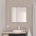 Miroir de salle de bains - LAYA - L60 x H60 cm