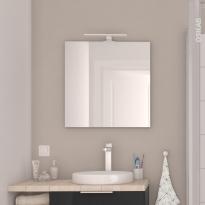 Miroir de salle de bains - Simple EPHIS - L60 x H60 cm