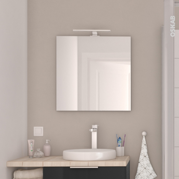 glace salle de bain good meuble salle de bain cm option armoire de toilette granada with glace. Black Bedroom Furniture Sets. Home Design Ideas