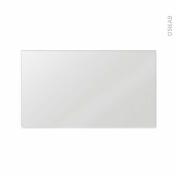 Miroir de salle de bains simple ephis l120 x h60 cm oskab for Miroir 150 x 60