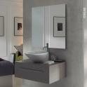 Miroir de salle de bains - LAYA -  L80 x H60