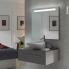 #Miroir de salle de bains - Lumineux - KIO - L60 x H70 cm