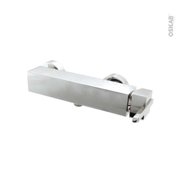 Robinet de douche - GERZAT - Mitigeur mécanique Chromé