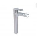 Robinet ASPE - Mitigeur lavabo salle de bains - Bec haut sans tirette - Chromé