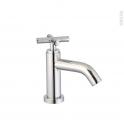 Robinet de salle de bains - ALOSE - Lave-mains - Chromé