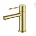 Robinet de salle de bains - EGLE - Mitigeur lavabo - Bec bas sans tirette - Laiton
