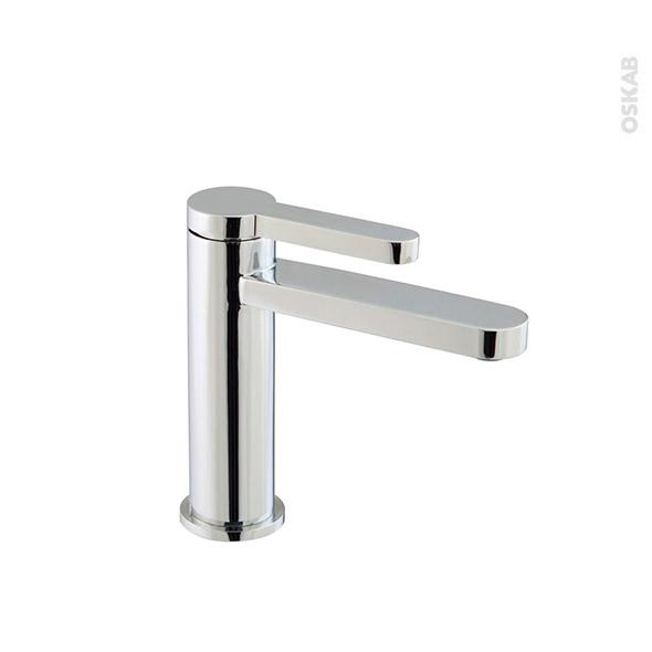 Robinet linu mitigeur lavabo salle de bains bec bas for Changer robinet salle de bain