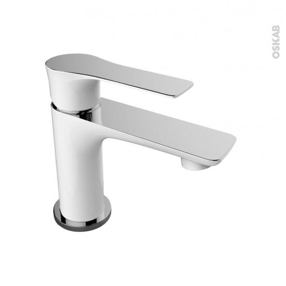 Robinet de salle de bains SERIO Mitigeur lavabo Bec bas  tirette