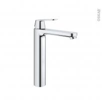Robinet de salle de bains - EUROSMART COSMOPOLITAN XL - Mitigeur lavabo - Bec haut sans tirette - Chromé - GROHE