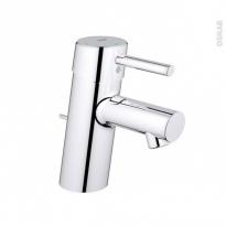 Robinet CONCETTO - Mitigeur Lavabo salle de bains - Bec bas à tirette - Chromé - GROHE