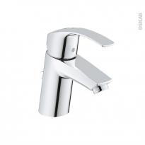 Robinet EUROSMART - Mitigeur Lavabo  salle de bains - Bec bas à tirette - Chromé - GROHE