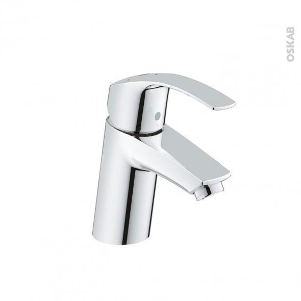 Robinet EUROSMART - Mitigeur Lavabo salle de bains - Bec bas sans tirette - Chromé - GROHE