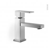 Robinet de salle de bains - ROC - Mitigeur lavabo - bec bas - Chromé