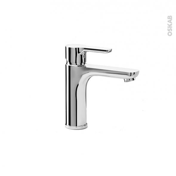 Robinet de salle de bains odchu mitigeur lavabo bec moyen chrom oskab - Mitigeur lavabo salle de bain ...