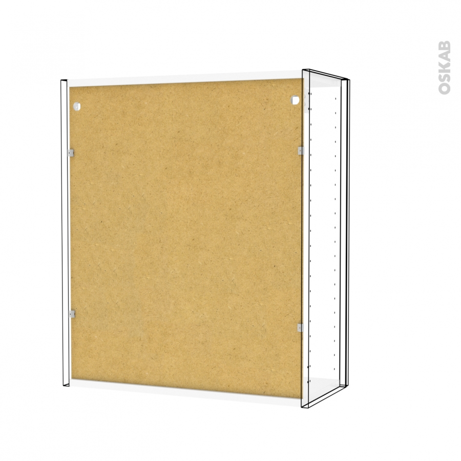 Armoire de salle de bains rangement haut ginko gris 2 for Armoire de rangement salle de bain