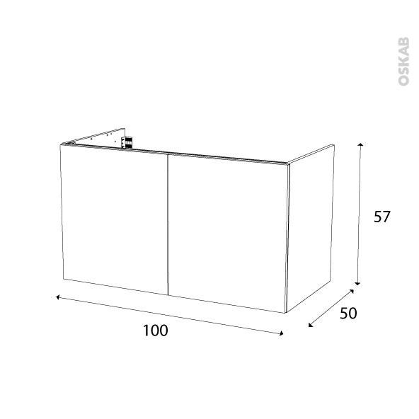 Vasque sous plan salle de bain maison design for Dimension meuble salle de bain 1 vasque