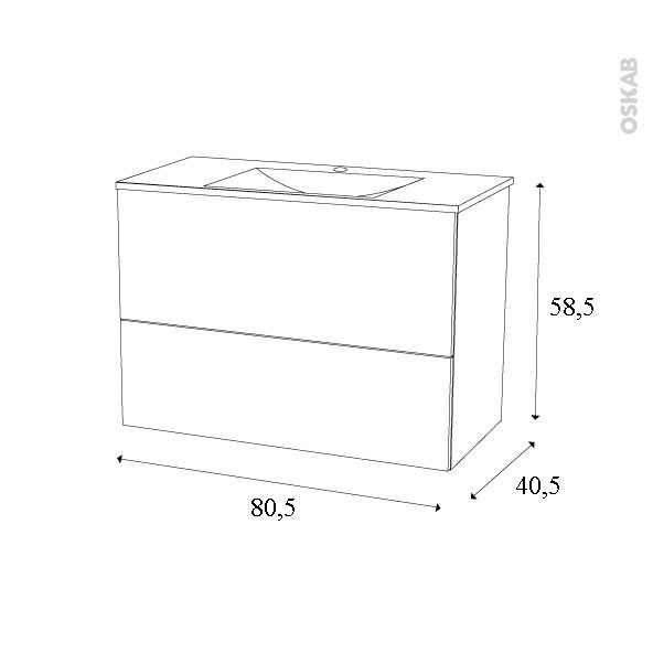 dimension meuble vasque top vasque salle de bain. Black Bedroom Furniture Sets. Home Design Ideas