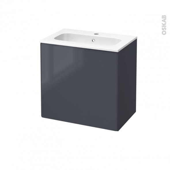 Salle de bain bleu et gris bleu flamm ne pas les - Salle de bain gris et bleu ...